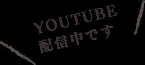 YOUTUBE配信中